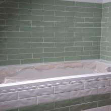faïence et habillage baignoire